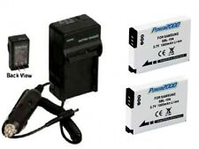 2 Batteries + Charger for Samsung WB850 WB150 WB150F WB151 WB151F WB152 WB152F