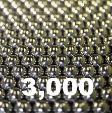 """3000 qty 3/8"""" Inch Steel Shot Slingshot Ammo Balls"""