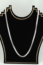 """New sterling silver 28"""" Italy Thick Chain Necklace"""