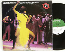 Millie Jackson        Live and outrageous       Spring       USA        NM  #  M