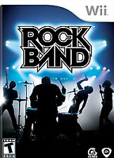 Rock Band (game only)  (Wii, 2008)        COMPLETE         FAST SHIPPING !!!