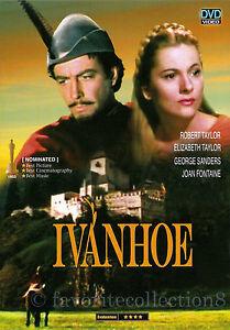 Ivanhoe (1952) - Elizabeth Taylor, Robert Taylor (Region All)