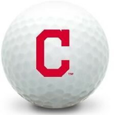 3 Dozen Titleist Pro V1 Mint / AAAAA (Cleveland Indians C LOGO) Golf Balls