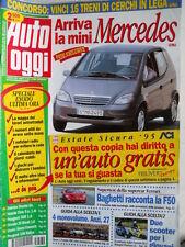 Auto Oggi n°30 1995 Supertest della Supercar Ferrari F50 [Q202]