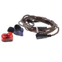 KZ ED12 Wired Earphone DJ Noise Isolating In-ear Deep Bass Earbud Microphone