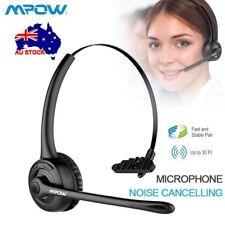 Mpow Pro Trucker Bluetooth Headset Wireless Headphone Handsfree Microphone Skype
