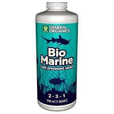 General Organics Bio Marine 1 Quart 32 ounce organic grow fertilizer biomarine