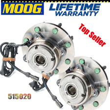 MOOG 515020 Front Wheel Bearing and Hub Assembly For Ford F-250 Super Duty Pair