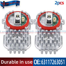 2pcs New LED Light Module Bulb 7263051 For BMW X5 X3 E92 E93 F06 F12 1305715084