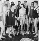 ACTOR BUSTER KEATON AND FRIENDS BEEFCAKE SWIMSUITS LEGGY LADY 8X10 PHOTO 8