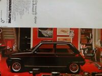 Publicité de presse (ad) //  Renault 5 Alpine