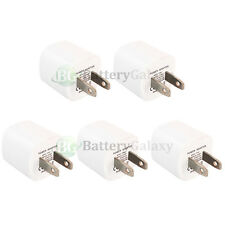 5 HOT! USB Battery Wall Charger Adapter for Apple iPhone 1 2G 3 3G 3GS 4 4G 4S