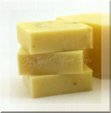 Lemongrass Natural Soap Olive Oil Organic Shea Butter, 1 Large Bar Handmade