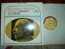 FRANCK: Symphony in D > French Radio Beecham / Seraphim Angel stereo USA LP VG++