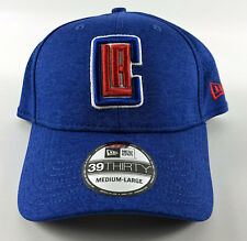 LA Clippers Baseball Hat New Era 39Thirty Flex Blue - Medium-Large