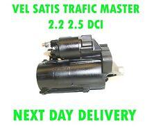 RENAULT VEL SATIS TRAFIC MASTER 2.2 2.5 DCI 2001 2002 2003>on RMFD STARTER MOTOR