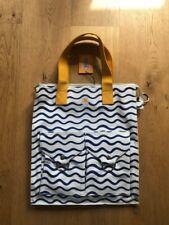 L.F Markey yellow/white & blue tote NEW