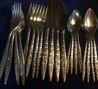 International 20 Piece Stainless Flatware Set, Service for 4  CHOICE of Pattern