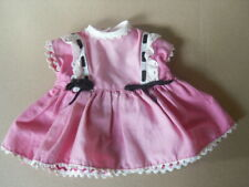 Poupées Mannequins, Mini Autres Vintage Enchanteur Poupée Demoiselle Fille Dans Robe Rose Chat P-120 T174