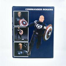 MEZCO Marvel Captain America COMMANDER ROGERS One:12 Collectible Action Figure!!