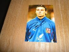 MAREK JANKULOVSKI *3 AC MILAN & CZECH REPUBLIC - PHOTOGRAPH ORIGINAL SIGNED !!