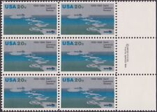 US - 1984 - 20 Cents St Lawrence Seaway Anniversary Copyright Block 2091 Mint NH