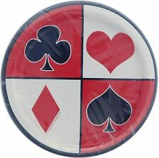 Casino Party Desert Paper Plates, 8ct - Unique Ind. 49674 - Free Shipping