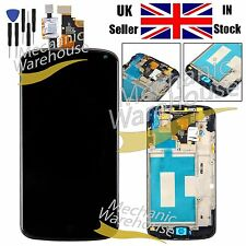 LCD Screen Display Touch Digitizer for LG E960 Google Nexus 4 Frame Replacement