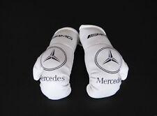 Mini Boxhandschuhe Mercedes-Benz AMG z.B. für Auto Innenspiegel Kunstleder