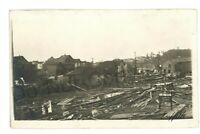 RPPC Tornado Damage WILKES BARRE PA Luzerne County Real Photo Postcard 3
