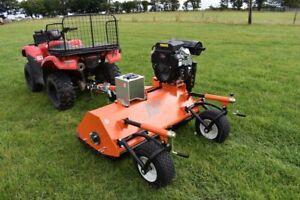Quad Mule Gator UTV ATV 4X4 Towable Flail Mower Topper V Twin 22 HP