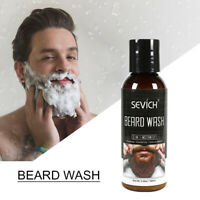 NEW Sevich 100ml Men beard wash shampoo facial hair Moisturiser Nourish cleanser