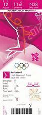 (50050) Olympic Games London 2012 Basketball Final Day Ticket