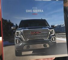 "2019 GMC SIERRA 56-page Original ""CANADIAN"" Sales Brochure"