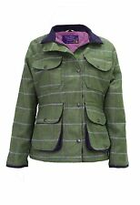 Hazy Blue Womens Country Hunting Tweed Hacking Jacket Sandringham £59.99 FREE PP