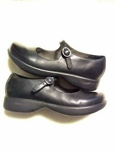 DANSKO 39 Diana Womens Mary Janes Leather SLIP ON Nursing Shoes 8.5-9