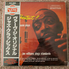 COUNT BASIE JOE WILLIAMS The Greatest Album FACTORY SEALED Japan Verve Reissue