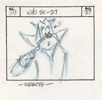 1979 MIGHTY MOUSE Cartoon Animation Production Storyboard ART DRAWING EP 27 p10