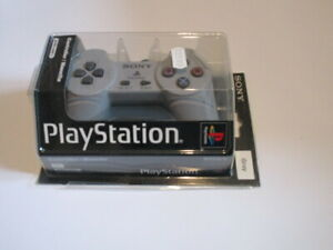 Original Playstation 1 Controller PS1 Gray/Original Grau Gamepad Pal Neu