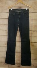 7 Seven For All Mankind Womens Medium Dark Wash Stretch Boot Cut Jeans Size 27