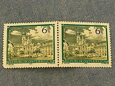 2 AUSTRIAN STAMPS REPUBLIK OSTERREICH 1984 ABBY OF REIN MONASTERY UNPOSTED