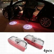 4Pcs CREE LED door step Laser Projector courtesy light for VW Passat 2011-2014