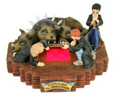 Harry Potter Through The Trapdoor Light Up Figurine Limited Edition Enesco 2000
