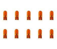 10x wy5w t10 12 V 5 W w2, 1x9, 5d Clignotant Orange Amber Lampes Etui