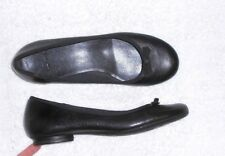 CLARKS ballerines cuir noir P 39 (6) TBE
