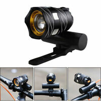 5000lm USB Rechargeable LED Flashlight MTB Bike Bicycle Front Head Lamp Light