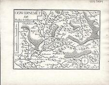 Antique maps, Gouvernement de Moulins en Gilbert