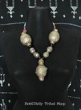 Antique necklace with Turkmen beads