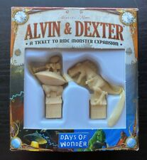 Ticket to Ride Monster - Alvin and Dexter Expansion - Used - Rare Item!