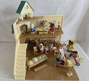 Sylvanians Families Berry Grove School Bundle ~ Including lollipop Set